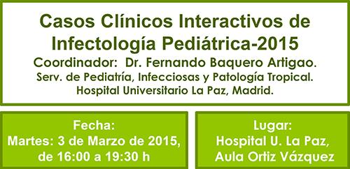 Casos Clínicos Interactivos de Infectología Pediátrica-2015