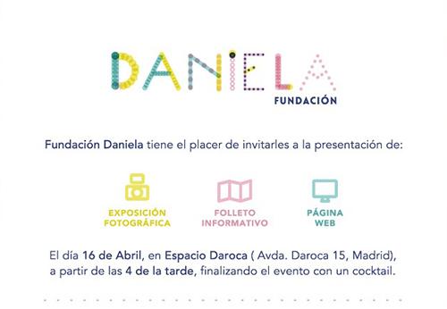 Presentación de la página web y exposición fotográfica de la Fundación Daniela