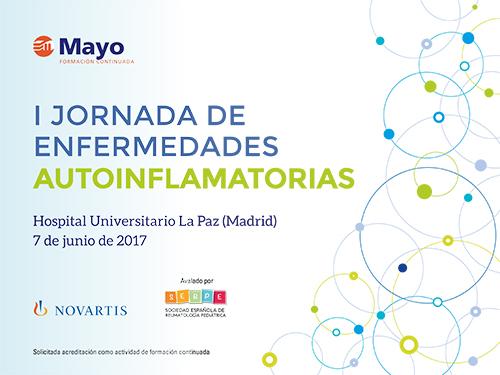 I JORNADA DE ENFERMEDADES AUTOINFLAMATORIAS